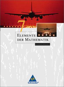 Elemente der Mathematik 7. Schülerband. Sekundarstufe 1. Branden