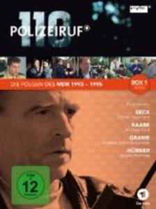 Polizeiruf 110 - Die Folgen des MDR 1993 - 1995, Box 1