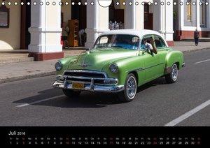 Cuba Cars (Wandkalender 2016 DIN A4 quer)