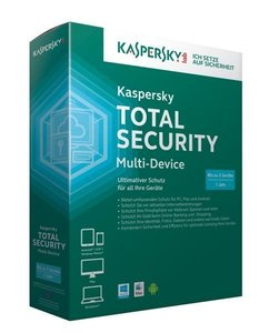 Kaspersky Total Security Multi-Device. Für Windows Vista/7/8/MAC
