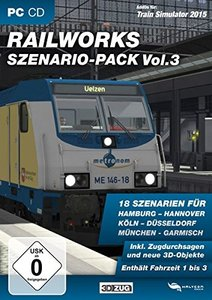 Train Simulator 2015 - RAILWORKS Szenario-Pack Vol. 3