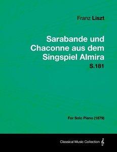 Sarabande und Chaconne aus dem Singspiel Almira S.181 - For Solo