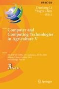 Computer and Computing Technologies in Agriculture