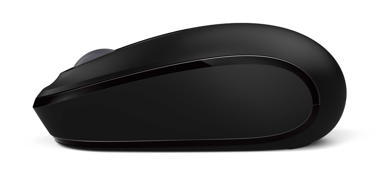 Microsoft Wireless Mobile Mouse 1850, Maus, schnurlos, schwarz - zum Schließen ins Bild klicken