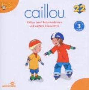 Caillou 22 Audio: Caillou lernt Rollschuhfahren u
