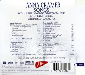 Anna Cramer-Songs