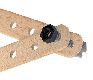 Brio 34586 - Builder Box 48-teilig, Werkzeugkoffer