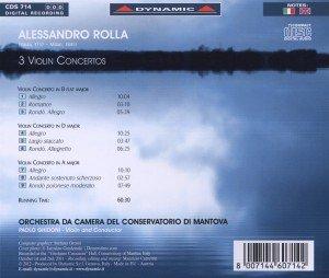 3 Violinkonzerte