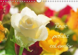 Rose petals calendar Great Britain (Wall Calendar 2015 DIN A4 La
