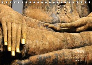 Thailands Buddhas (Tischkalender 2016 DIN A5 quer)