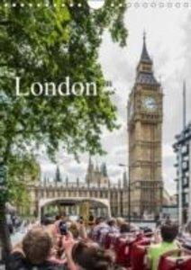 Dynamic LONDON (Wall Calendar 2015 DIN A4 Portrait)