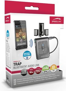 Speedlink SL-8840-BK-01 TRAP Bluetooth®-Audio Link, Audioempfäng