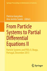 From Particle Systems to Partial Differential Equations II
