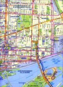 Montreal (Canada) City Map 1 : 12 500