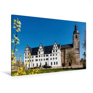 Premium Textil-Leinwand 120 cm x 80 cm quer Klosterkirche St. Ma