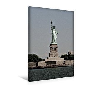 Premium Textil-Leinwand 30 cm x 45 cm hoch Freiheits-Statue