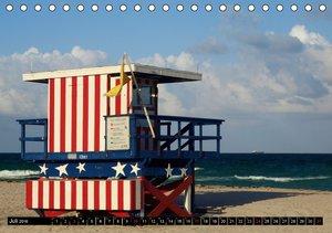 Florida - The Sunshine State (CH - Version) (Tischkalender 2016