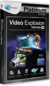 Avanquest Platinum Edition - Video Explosion Ultimate HD (Neu)