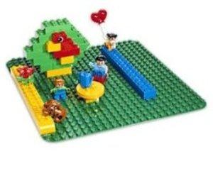 LEGO® Duplo 2304 - Große Bauplatte: grün