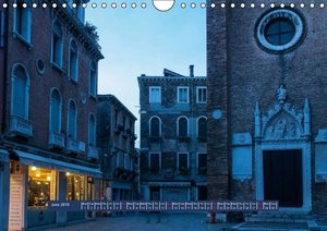 Magic Hour in Venice 2015 (Wall Calendar 2015 DIN A4 Landscape)