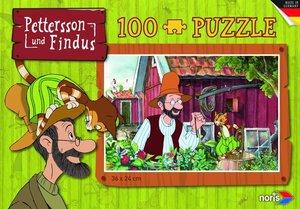 Pettersson Findus 100tlg. Puzzle Garten