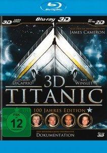 Titanic 3D: Die 100 Jahre Edition-Blu-ray Disc