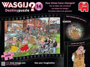 Wasgij Destiny 14. Die Zeiten haben sich geändert! Puzzle 1000 T