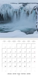 Iceland Impressions (Wall Calendar 2015 300 × 300 mm Square)
