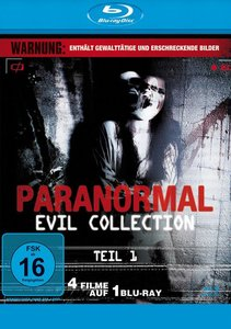 Paranormal Evil Collection Teil 1 - 4 Filme