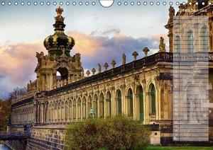 Dresden Impressionen 2016 / Geburtstagskalender (Wandkalender 20