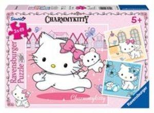 Ravensburger 09422 - Charmmy Kitty und ihr bester Freund, Puzzle