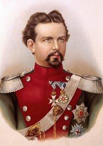 Ludwig II. von Bayern (Tischaufsteller DIN A5 hoch)