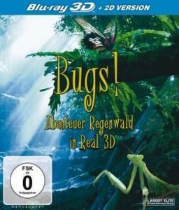 BUGS! Abenteuer Regenwald-Real 3D-Blu-ray Disc