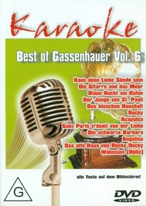 Best Of Gassenhauer Vol.6-Karaoke DVD