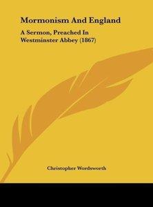 Mormonism And England