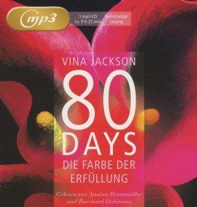 Jackson, V: 80 Days - Die Farbe der Erfüllung/MP3-CD