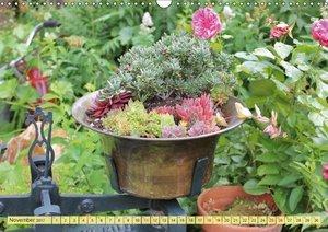 Gartenzauber (Wandkalender 2017 DIN A3 quer)