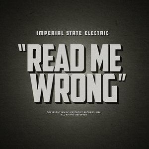 Read Me Wrong (Limited 'Grey' Vinyl Maxi 12'')