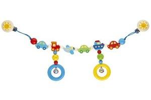 Goki 736000 - Kinderwagenkette Fahrzeuge