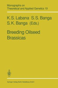 Breeding Oilseed Brassicas