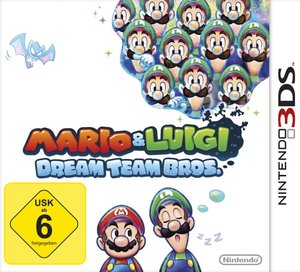 Mario & Luigi: Dream Team Bros. für Nintendo 3DS
