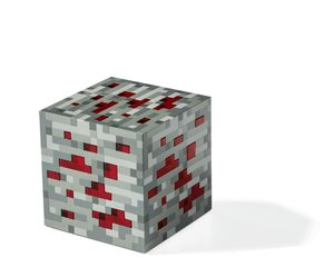 Minecraft - Light-Up Redstone Ore (Rot)