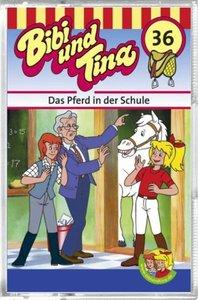Bibi und Tina 36. Das Pferd in der Schule. Cassette