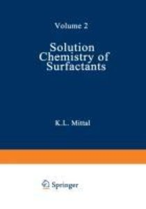 Solution Chemistry of Surfactants
