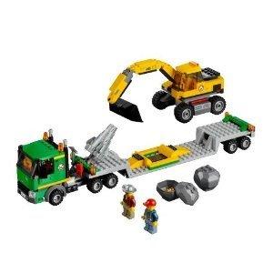 LEGO® City 4203 - Grubenbagger mit Transporter