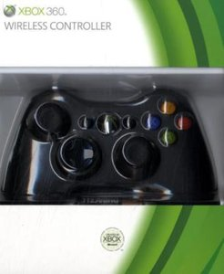Xbox 360 - Controller Wireless R Black Original