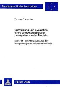 Entwicklung und Evaluation eines computergestützten Lernsystems