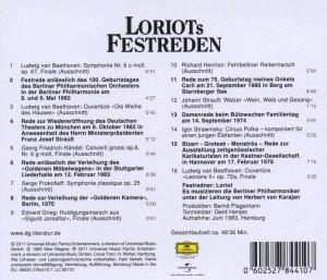 Loriots Festreden