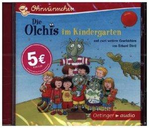 Die Olchis im Kindergarten und zwei weitere Geschichten von Erha