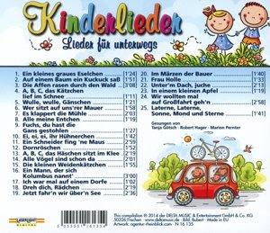 Kinderlieder für Unterwegs